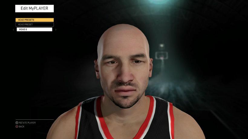 NBA 2k16 customize 3