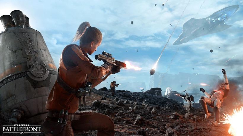 Star Wars Battlefront Drop Zones