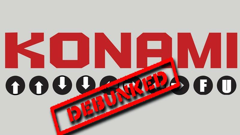 Konami debunk