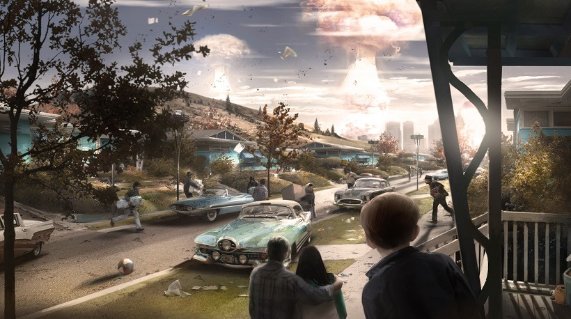 Fallout 4 isn't all on the disc on PC