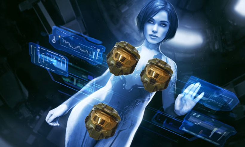 So That S Why Cortana Is Always Naked In Halo Critical Hit