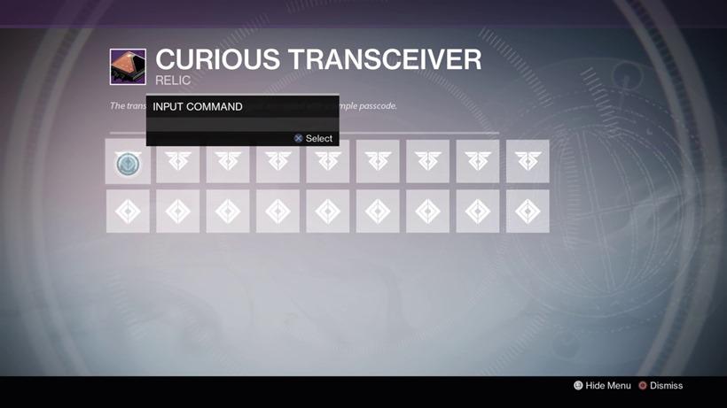 Destiny transceiver (3)