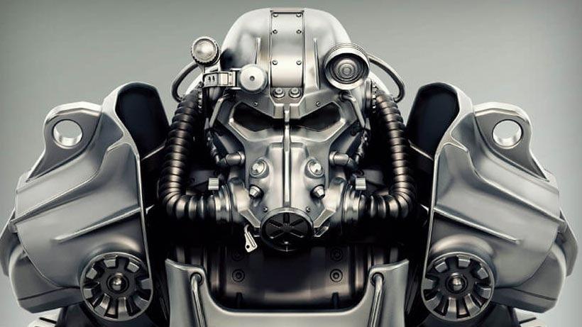 Concept Art Fallout 4 Power Armor