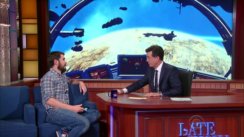 No Man's Sky on The Late Show