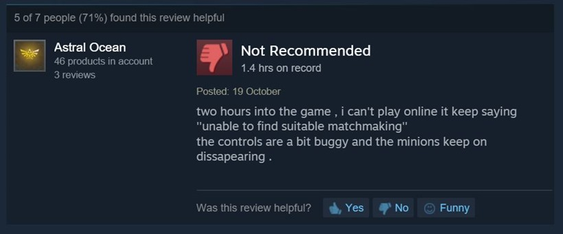 Overlord Steam reviews 4