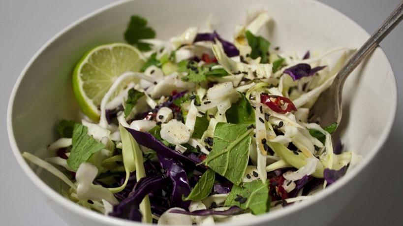 Summer Cabbage Salad. So yummGROSS