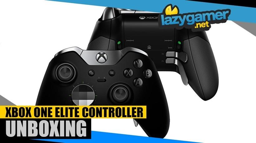 Xbox One Elite Controller Unboxing