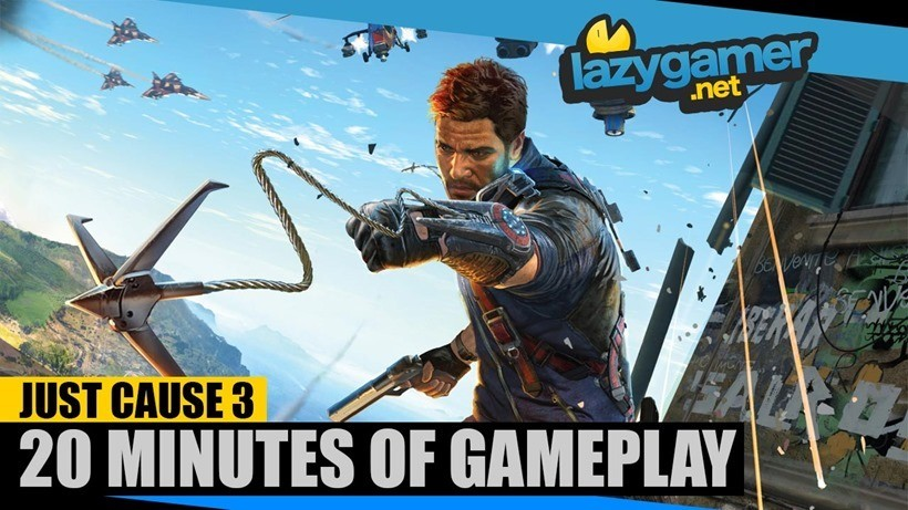 Just Cause 3 Let's Play