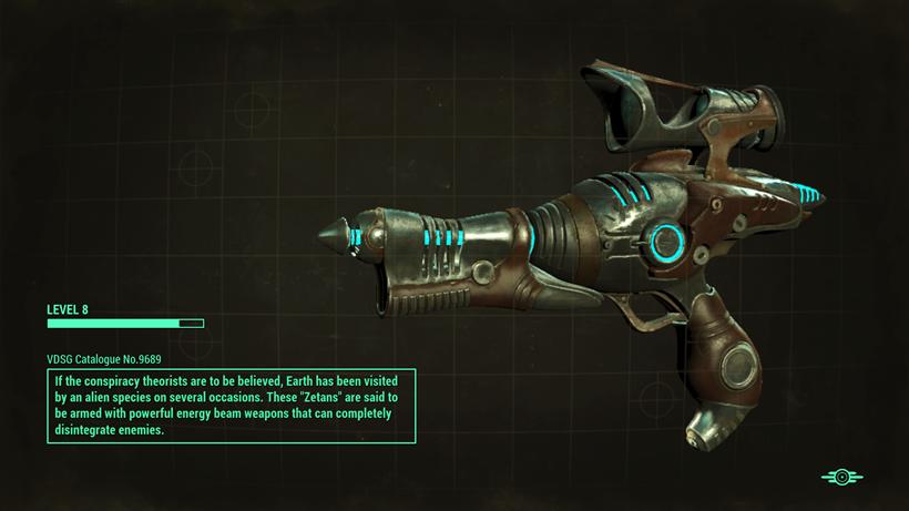 Fallout alien blaster