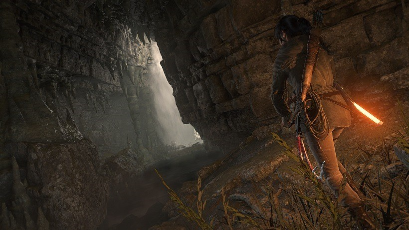 Tombs act as a nice side-activity that alters Tomb Raider's pace