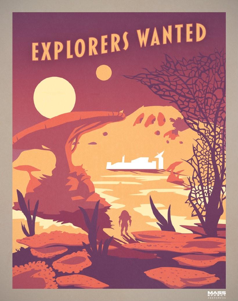 Andromeda explorers wanted