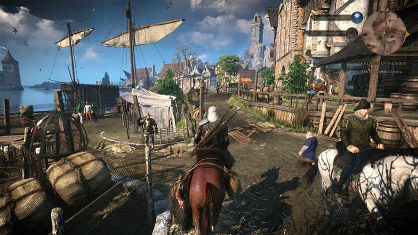 The Witcher 3 benefitted from it's open-world, with the game's structure and density encouraging exploration