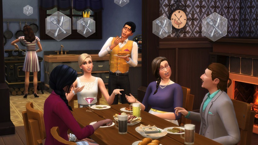 Sims 4 get together club