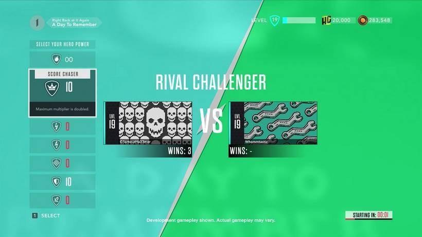 Rivals Challenges 1