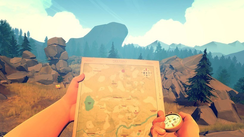 First 20 minutes of Firewatch