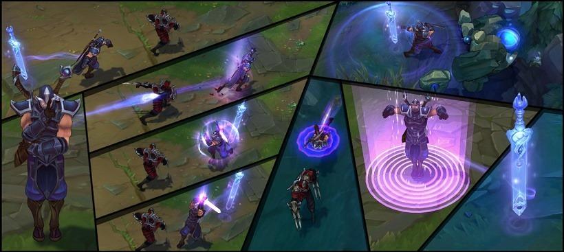Shen League of Legends abilities