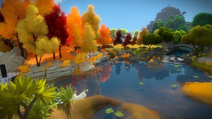 The Witness has some colourblind blocking puzzles
