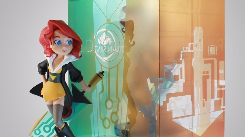Transistor Red feature