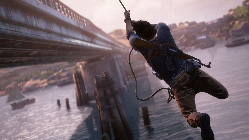 Uncharted 4 set-pieces are going to be a little different