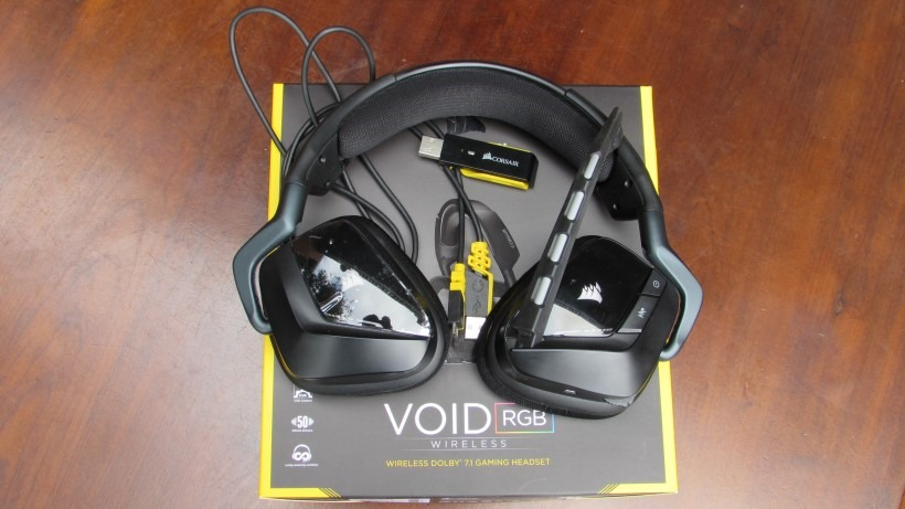Corsair VOID RGB Wireless 7 1 Review: Staring Into The VOID