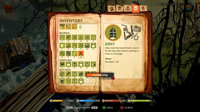 The Flame in the Flood (3)