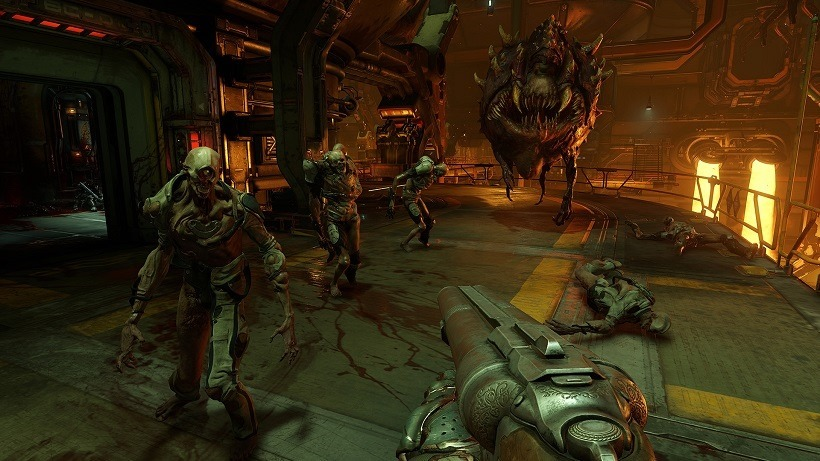 DOOM has mixes old with the new in multiplayer modes