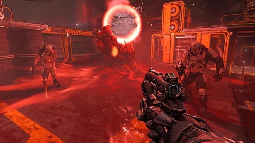 DOOM has vertically rich multiplayer maps