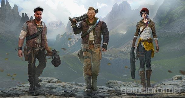 Gears of war 4 cast revealed