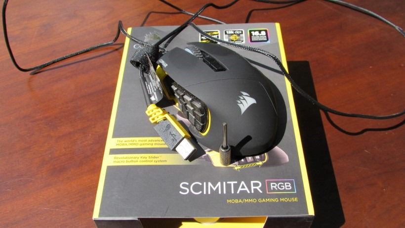 Corsair Scimitar RGB Review: A Good Non-MOBA/MMO Mouse