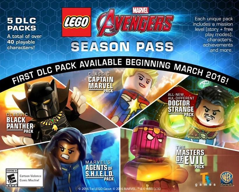 Lego season pass