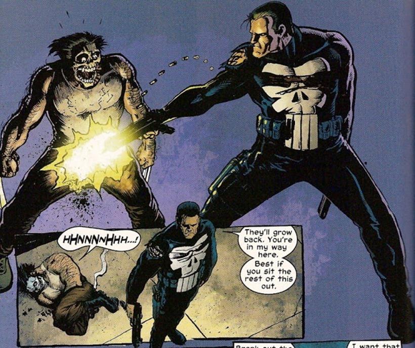 Punsiher Wolverine