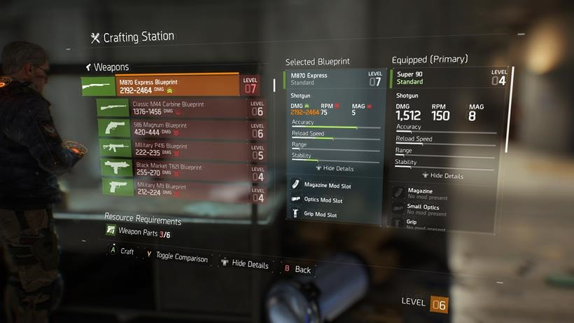 The Division Crafting (2)