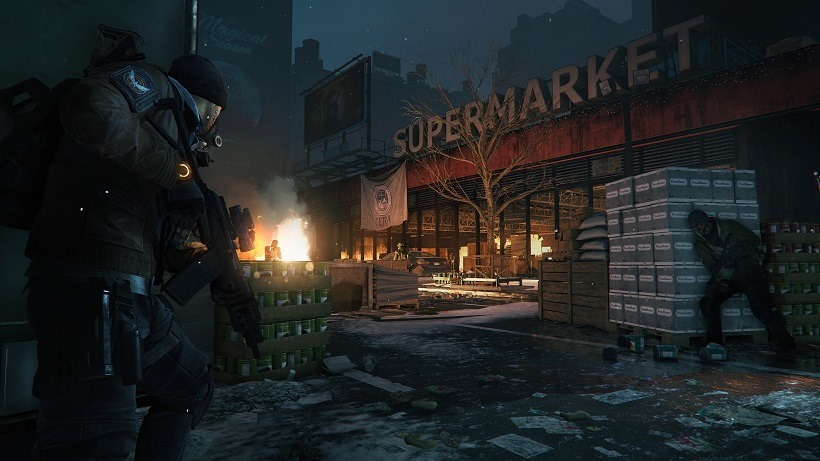 The Division has a big day one patch