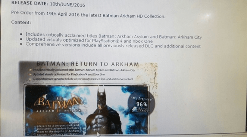 Batman HD Collection