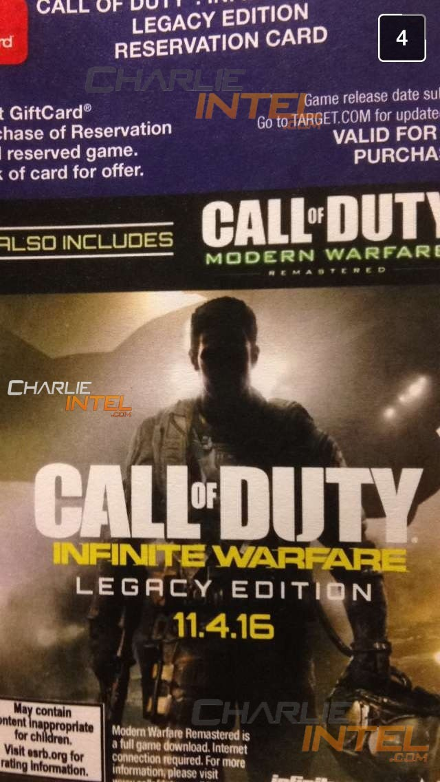 Call of Duty Modern Warfare Remastered leaked