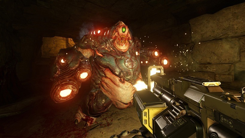 DOOM gets the full suite of PC settings