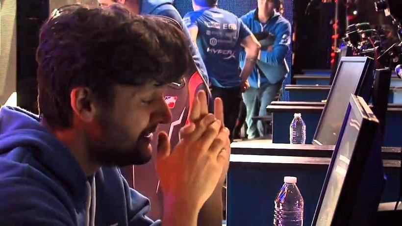 FalleN crying at MLG