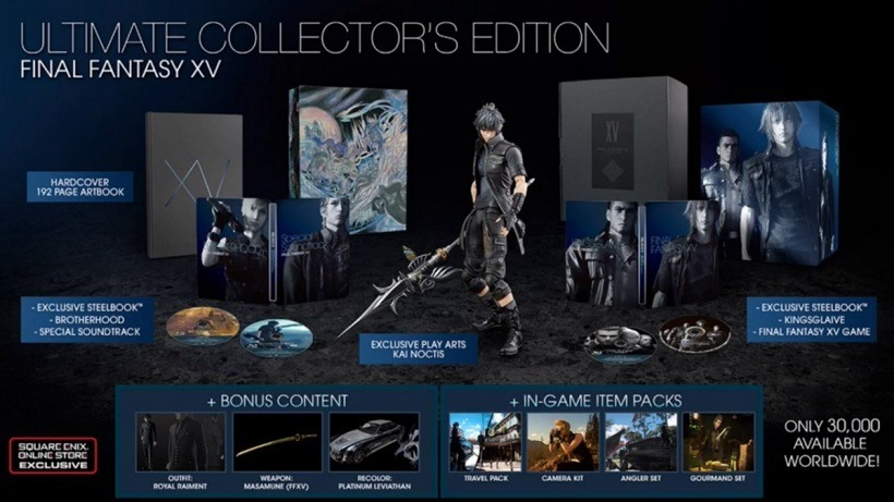 Final Fantasy Collector's Edition going back into production2