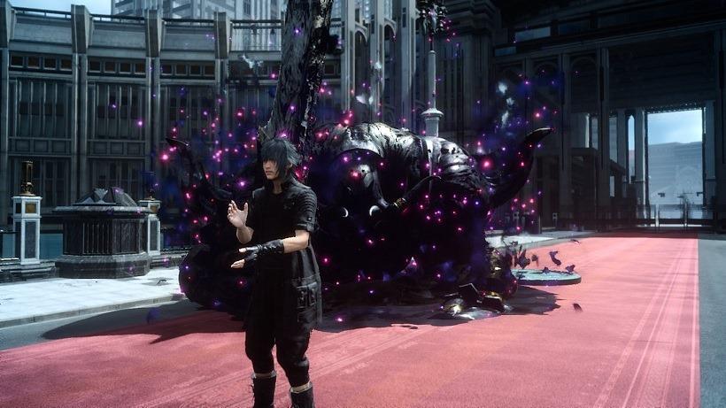 Final Fantasy XV struggling on console