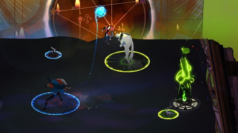 Pyre is like a supernatural sports game