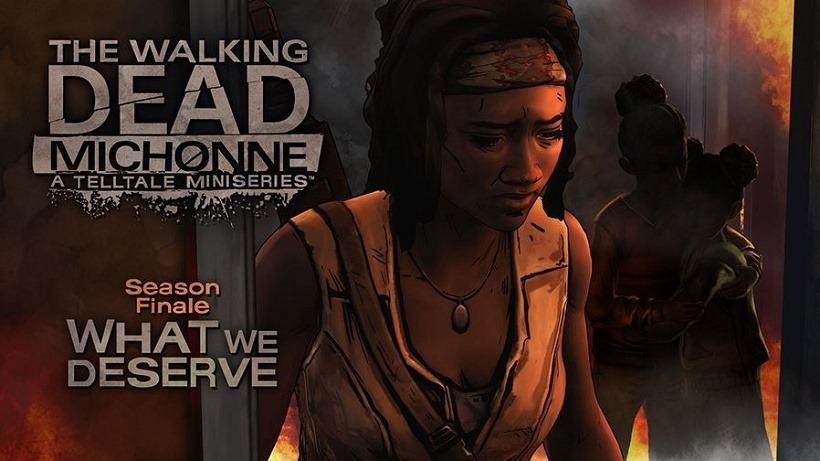 The Walking Dead Michonne Episode 3