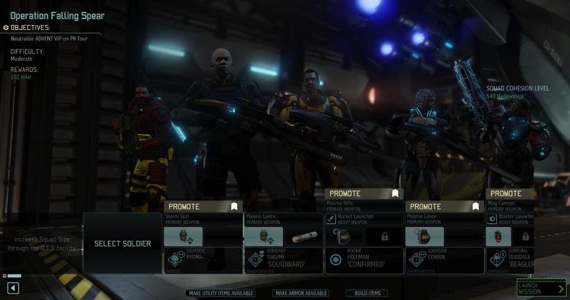 XCOM 2 squad cohesion