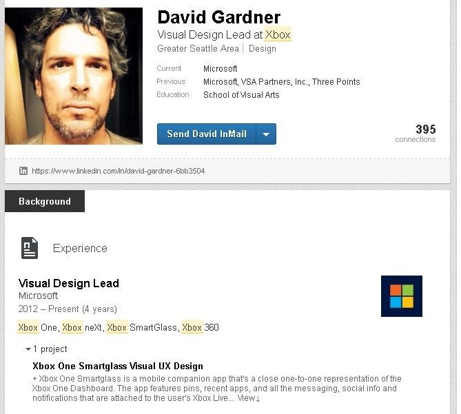 Xbox employee resume outs Xbox NeXt