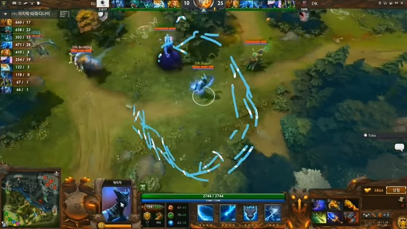 Dota 2 Patch 6 87 - Defense of the League of Starcraft II - Critical Hit