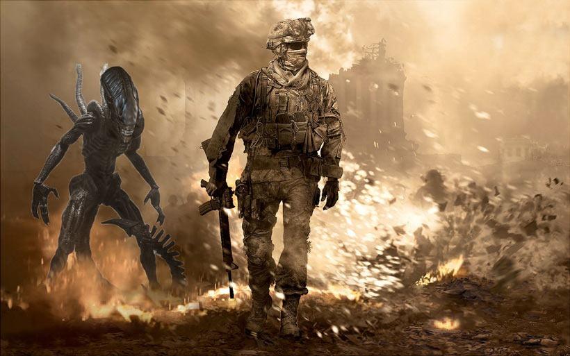 Aliens-vs-COD