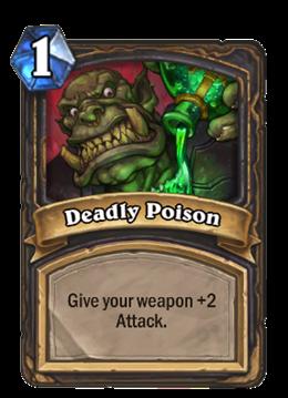 Hearthstone Poison