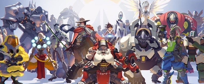 Spot the new Overwatch member perhaps
