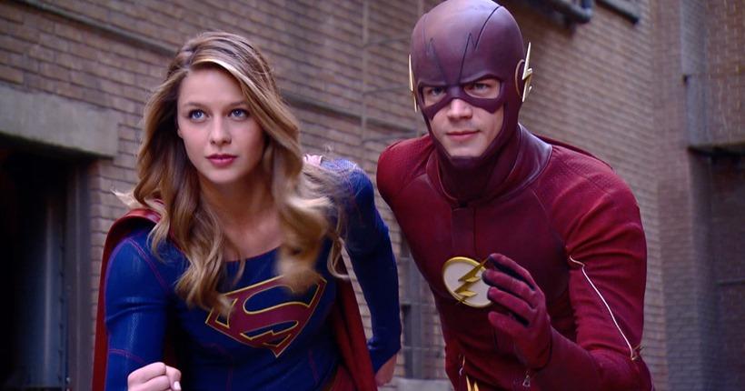 Supergirl Flash (2)