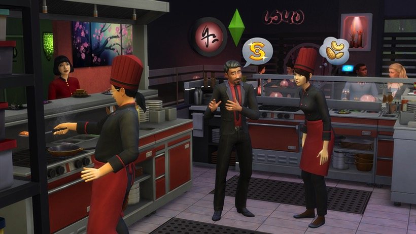 Sims 4 dine out 1