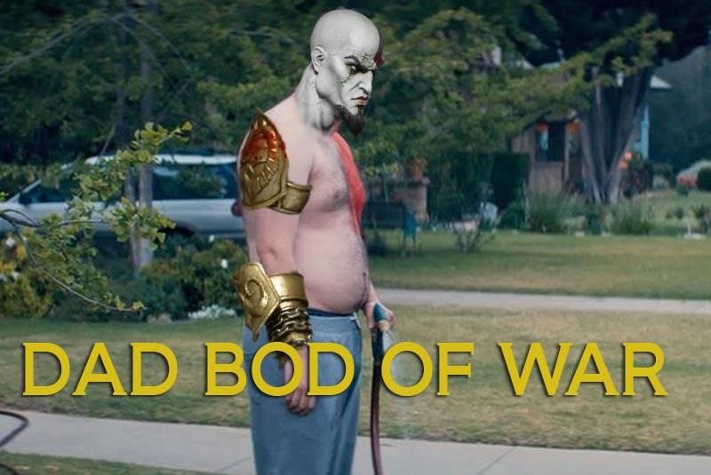 Dad bod of war